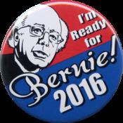 "I'm Ready for Bernie 2016 - Button (1.75"")"