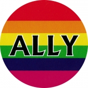 "Ally - Button / Pinback (1.25"")"