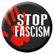 "Stop Fascism - Button / Pinback (1.75"")"