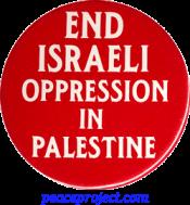 B148 - End Israeli Oppression in Palestine - Button