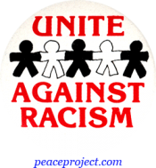 B177 - Unite Against Racism - Button