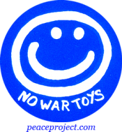 No War Toys - Button