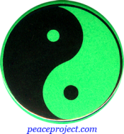 B0238G - Yin-Yang - Button