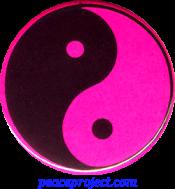 B0238P - Yin-Yang - Button