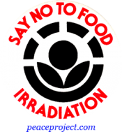 B256 - Say No To Food Irradiation - Button
