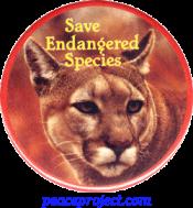 B342 - Save Endangered Species - Button