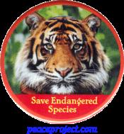 B343 - Save Endangered Species - Button
