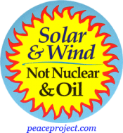 B350 - Solar and Wind Not Nuclear and Oil - Button