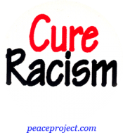 B392 - Cure Racism - Button