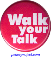 Walk Your Talk - Button