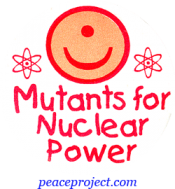 B448 - Mutants For Nuclear Power - Button
