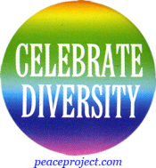 B596 - Celebrate Diversity - Button
