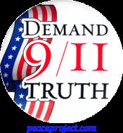 Demand 9/11 Truth - Button
