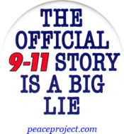 The Official 9/11 Story Is A Big Lie - Button
