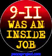 9/11 Was An Inside Job - Button