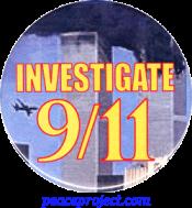 Investigate 9/11 - Button