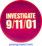 B865 - Investigate 9/11/01 - Button