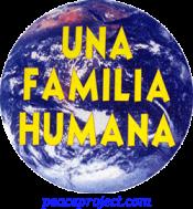 Una Familia Humana - Button