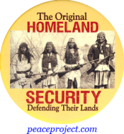 The Original Homeland Security - Defending Their Lands - Button
