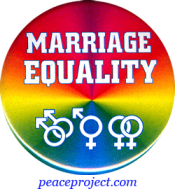 "Marriage Equality - Button / Pinback (1.5"")"