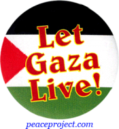 Let Gaza Live! - Button