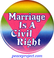 Marriage Is A Civil Right - Button