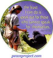 B0982 - The Least I Can Do Is Speak... - Jane Goodall