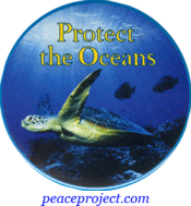 Protect The Oceans - Button
