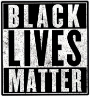 "Black Lives Matter - Small Bumper Sticker / Decal (3.5"" X 3.75"")"