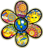 Hippie Bumper Stickers And Decals Peace Resource Project - Magnetic car decals flowers