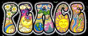 """Peace (Dan Morris) - Bumper Sticker / Decal (6"""" X 3"""")"""