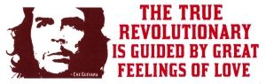 The True Revolutionary Is Guided By Great Feelings Of Love - Che Guevara