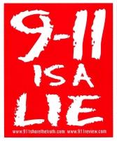 S427 - 9/11 is a Lie - Bumper Sticker