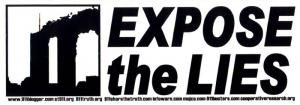 S463 - Expose the Lies - Bumper Sticker