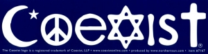 S515 - Coexist - Bumper Sticker