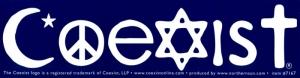 S515 - Coexist - Bumper Sticker