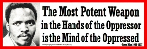 S520 - The Most Potent Weapon... - Bumper Sticker