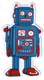 "Robot - Small Bumper Sticker / Decal (2.5"" X 4.5"")"