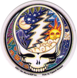 "Night and Day Steal Your Face - Small Bumper Sticker / Decal (2.5"" Circular)"