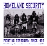 Homeland Security - Fighting Terrorism Sing 1492 - Small Bumper Sticker / Decal
