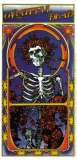 "Grateful Dead Skull Rose Album Cover - Small Bumper Sticker / Decal (2.75"" X 5.5"