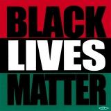 """Black Lives Matter - Small Bumper Sticker / Decal (3"""" X 3"""")"""