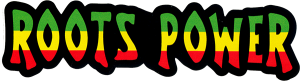 """Roots Power - Small Bumper Sticker / Decal (5.5"""" X 1.5"""")"""
