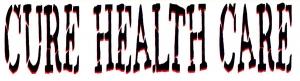 """Cure Health Care - Small Bumper Sticker / Decal (5.5"""" X 1.5"""")"""