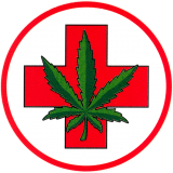 "Medical Marijuana - Bumper Sticker / Decal (4"" X 4"")"