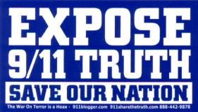 Expose 9/11 Truth - Save Our Nation - Mini-Sticker