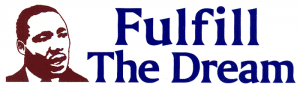 "Fulfill the Dream - Small Bumper Sticker / Decal (6"" X 1.75"")"