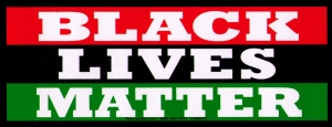 "Black Lives Matter - Small Bumper Sticker / Decal (6.5"" X 2.5"")"