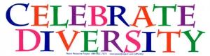S440 - Celebrate Diversity - Bumper Sticker
