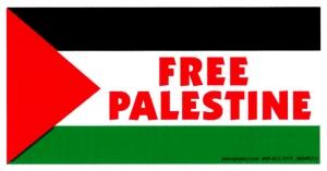 S521 - Free Palestine - Bumper Sticker